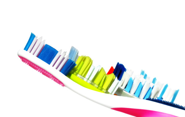 five toothbrushes: none