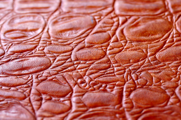 leather texture: briefcase orange-brown leather texture