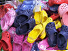 shoes of colour