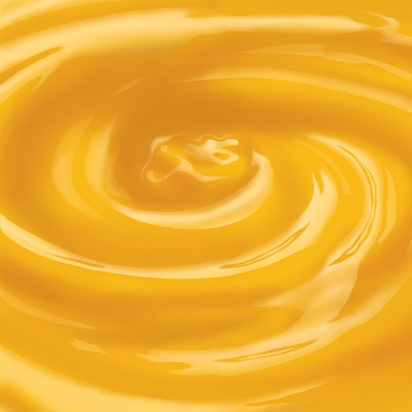 Orange juice swirl: Photosho render of an orange juice swirl