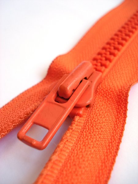 Orange Zipper 4: Orange zipper