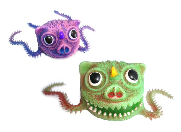 Creepy Creatures 1: Creepy creatures miniature toys