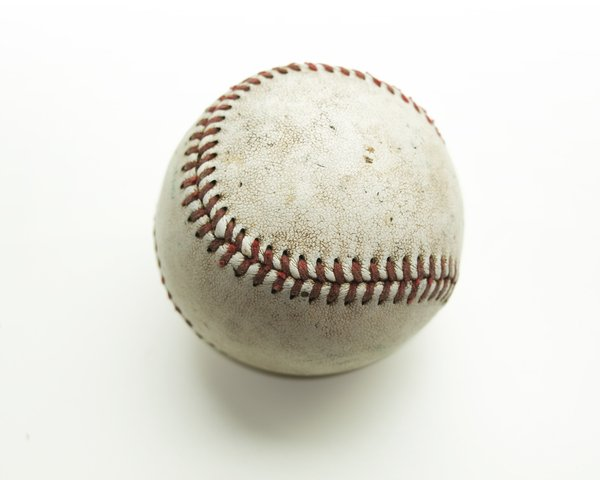 baseball: isolated ball