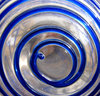 spiralling in blue