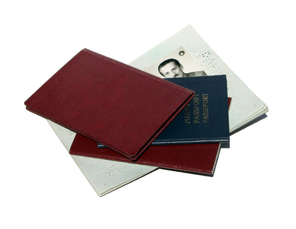 old passports: none