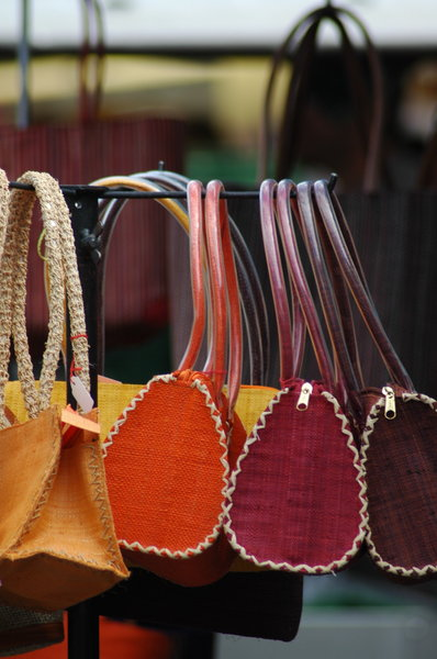 Bags: Some colorfull bags on a market