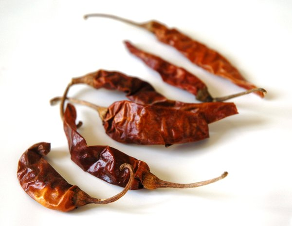 Kashmiri chili pepper: kashmiri dry chili pepper, very very hot