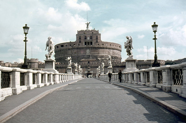 Castel Sant'Angelo: Castel Sant'Angelo in Rome.