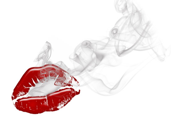 lips with smoke: No description