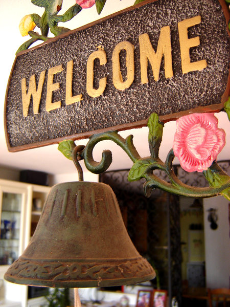 Welcome! 2: you are welcome