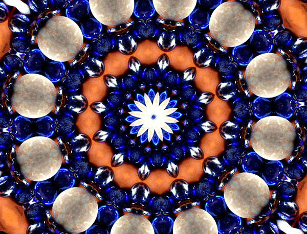 blue jewel circle: abstract backgrounds, textures, patterns, kaleidoscopic patterns, circles, shapes and  perspectives from altering and manipulating images