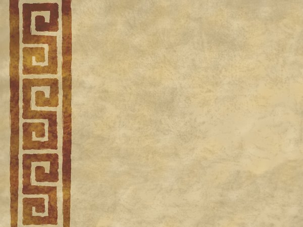 Parchment Scrolls 2: Digitally rendered parchment background with grungy geometric scrolls.  Lots of copy space.