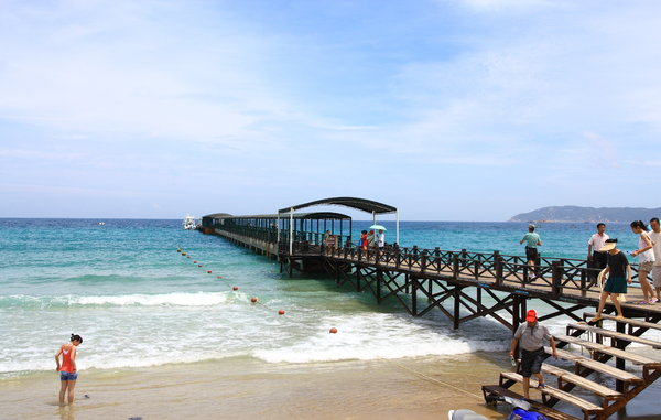 Yalong Bay: Yalong Bay in Hainan Island