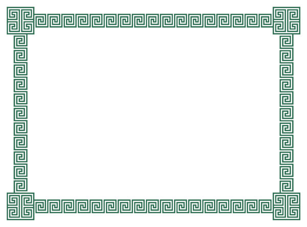 Free stock photos rgbstock free stock images geometric geometric border 3 a border of classic geometric scrolls and embellished corner elements in green download like download yadclub Choice Image