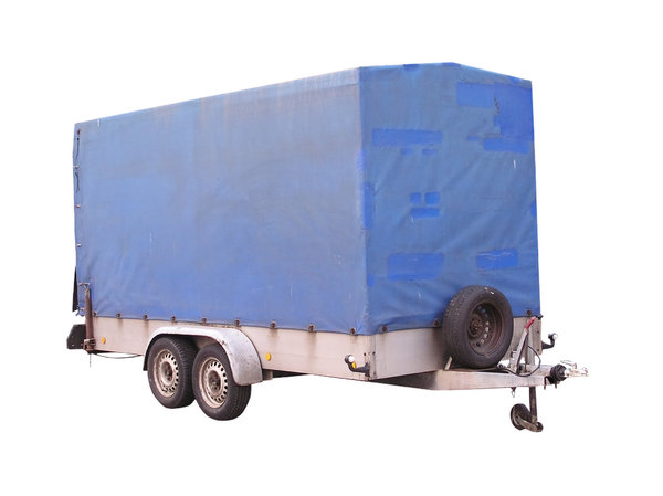 Tarpaulin Trailer: A trailer good for transporting goods.
