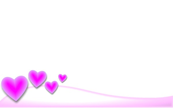 Valentine Background 1: A Valentine background with pink hearts.