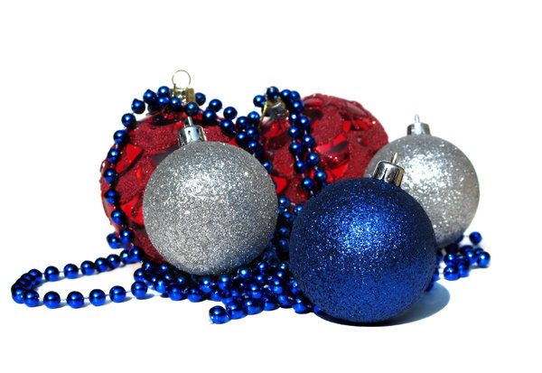 colorful baubles: none
