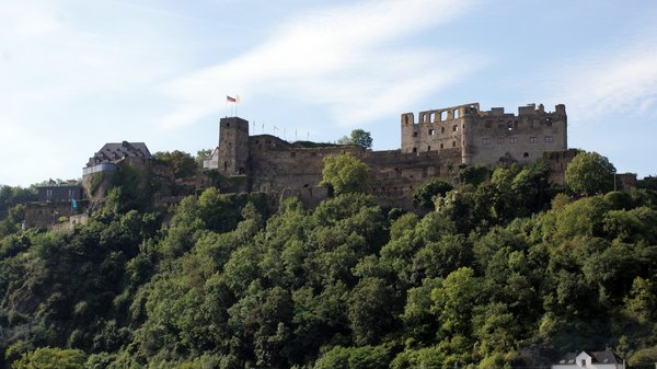 Germany 2010: Castle along the river Rhine
