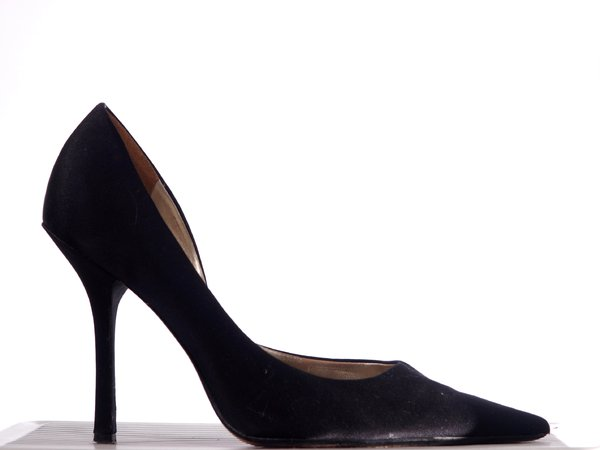 High Heel, black: A black high heel shoe