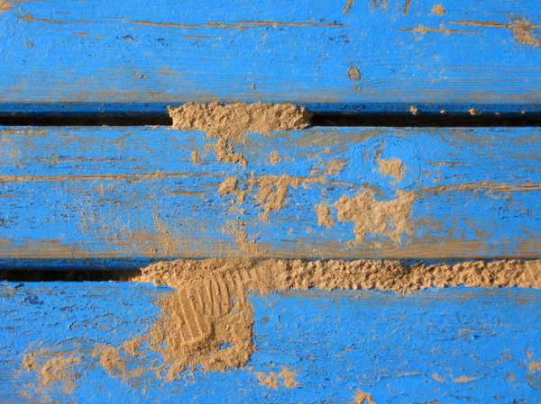 Sandbox: Sandbox: the sand, kids' benches, wooden planks of colorful benches.If you like this photo - feel free to comment! If you don't, you can also say so :) - all feedback will be used for better shots.