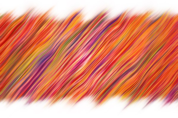 Fur stripes background: colored fur strips illustration