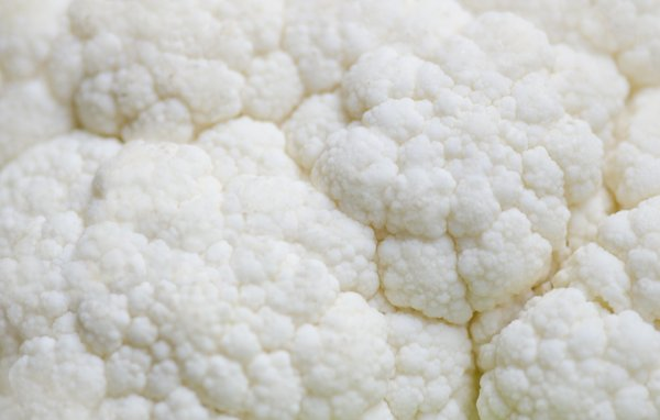 Cauliflower texture: Guess what we are having for dinner...