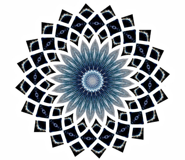 blue star flower: abstract backgrounds, textures, patterns, geometric patterns, kaleidoscopic patterns, circles, shapes and perspectives from altering and manipulating image