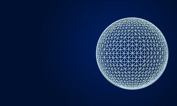 Wireframe globe: Wireframe globe illustration