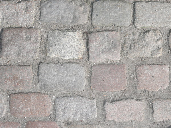 Cobble Stone Pavement 1: Cobble stone pavement in the sun, look nearly like a wall