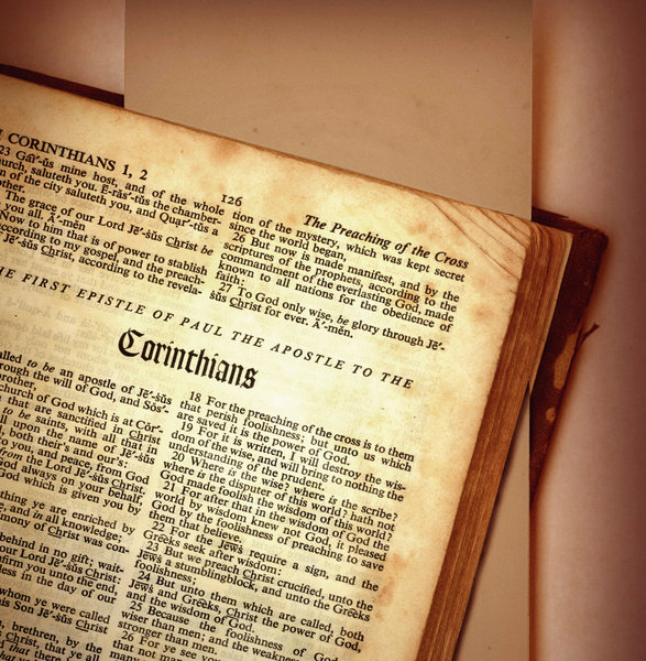 Corinthians 1: First and Second Corinthians from The Holy Bible.Please search for 'Billy Alexander'in single quotes atwww.thinkstockphotos.comI also have some stuff atdreamstime - Billyruth03Look for me on Facebook:Billy Frank AlexanderGod Bless You! :-)Billy