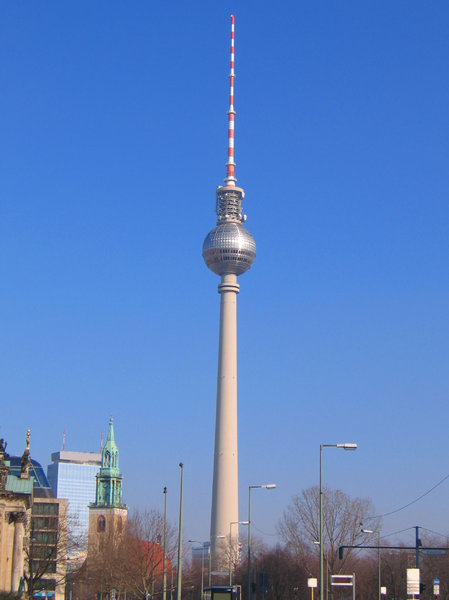 berlin television tower 2: berlin television tower 2