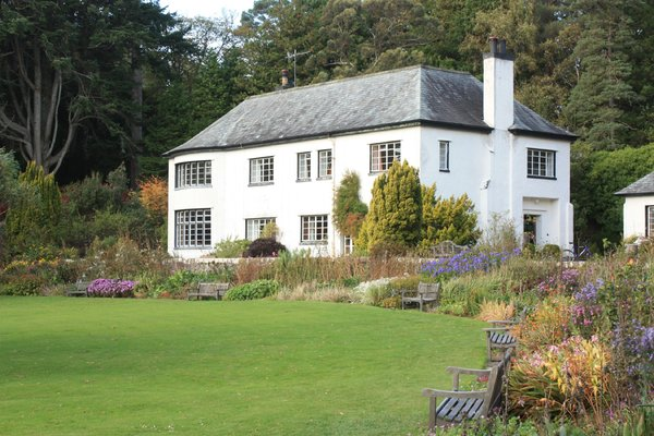 Inverewe house: House in Inverewe Gardens near Poolewe, Scotland