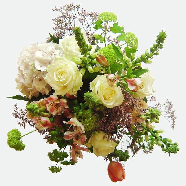 Huge flower bouquet 2: Great bunch of white/pink flowers
