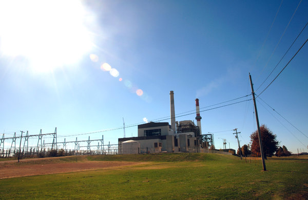 Power Plant: A electric coal power plant.