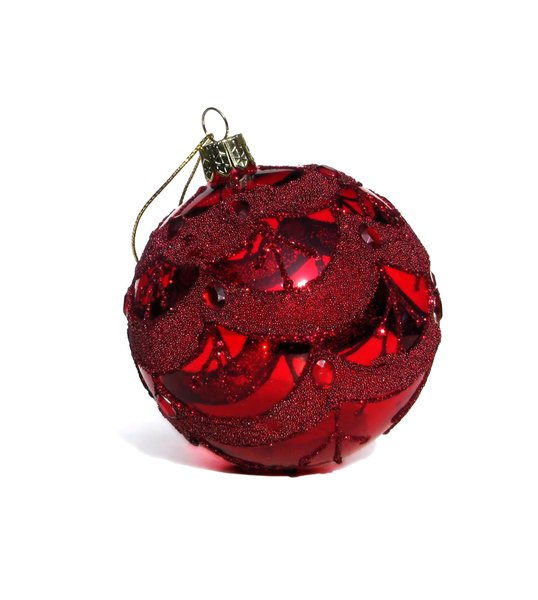glass bauble: none