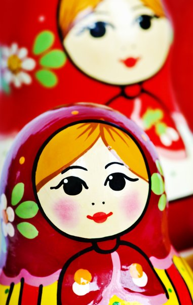 One more Matroshka: Matroskha doll