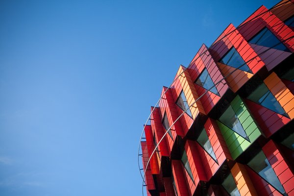 Colour House Landscape: Modern architecture in Gothenburg, Sweden