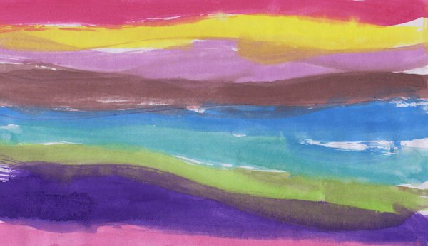 Watercolor background: watercolor stripes