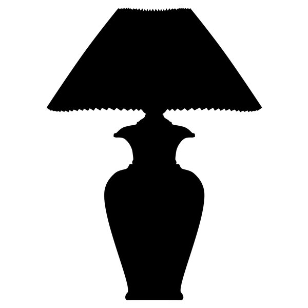 Silhouette Table lamp: a classic shaped lamp for your home interior