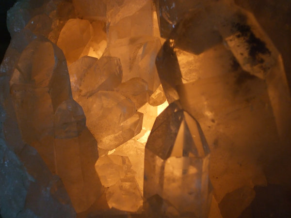 Crystals  1: Various Quartz Crystals around My Home.