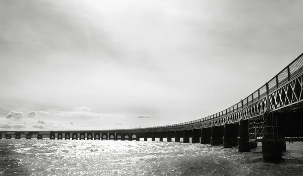 Tay Rail Bridge: Tay Rail Bridge, Dundee, Scotland