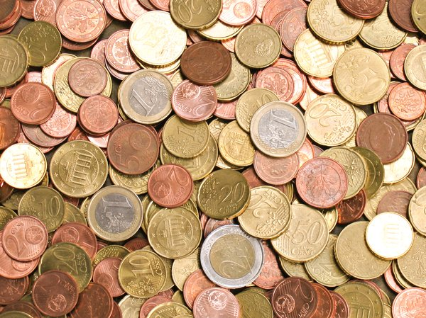 euro coins texture 2: euro coins texture 2