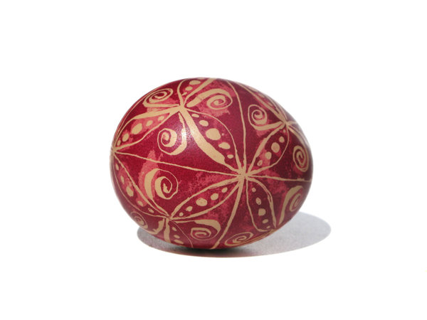painted easter eggs: none