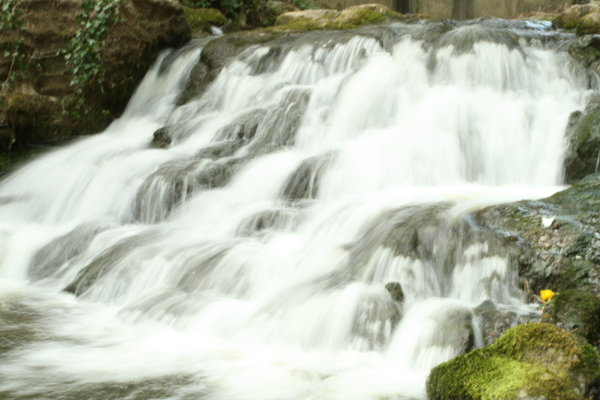 water falls: the river levens small water fall, slow shutter speed to blur the water!