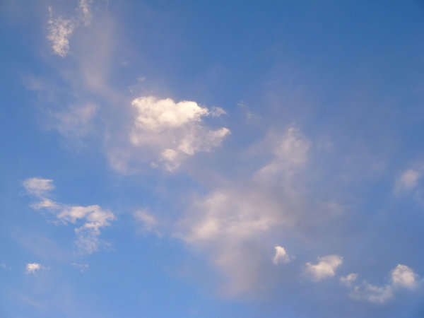 Cloudy Sky 3: A cloudy sky, suitable for a background, texture or fill.