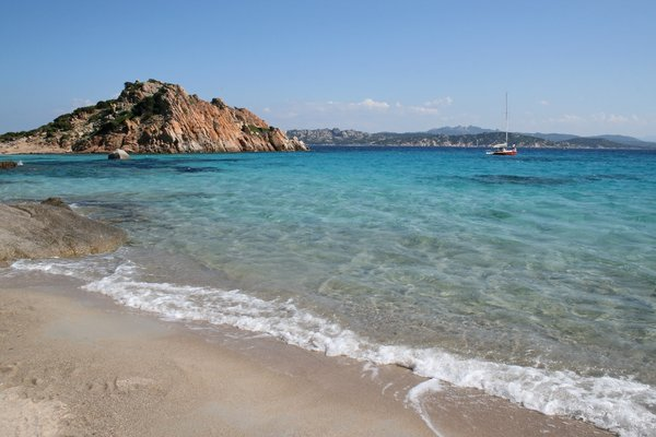 Sea and Coast 01: Coastal scenery of the Maddalena Islands, Sardinia.