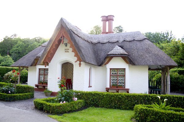 Hay Tached Cottage: Nice house on entrance to walk in killarney kerry