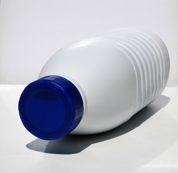 plastic milk bottle: none