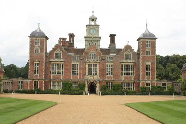 Country House: View of Blickling Hall near Norwich