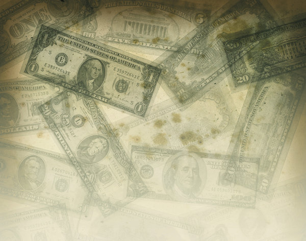 Grungy Money 2: Variations on a grungy money texture.